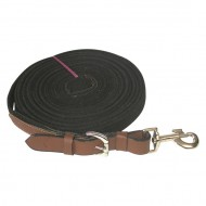 Leather Lunge Line